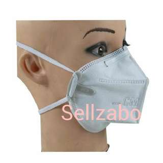 1 Pc Haze Protection Masks Sellzabo Mouth Nose Filter Cover Dust Dusty Smoke Air Pollution Allergy Sneezing Running Blocked Sick Sinus White Colour
