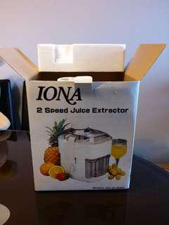 Used a few times only fruit juice extractor