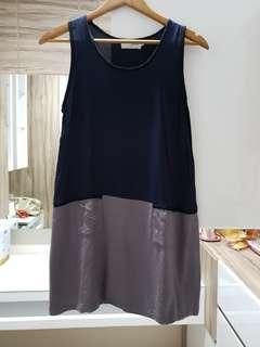 Gaudi twotone dress