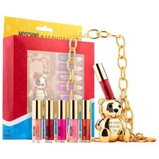 Moschino X Sephora Lip Gloss Set