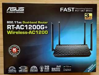 Brand new asus router RT-AC1200G+
