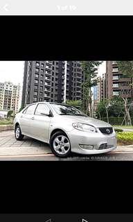 全額貸專區~2003年豐田VIOS 1.5 功能正常 車況履約保證無重大事故