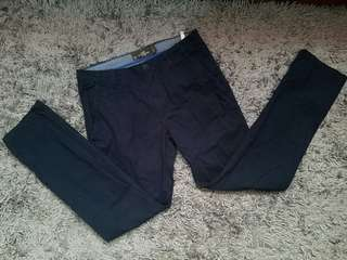 H&M Navy Blue Pants