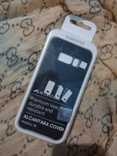 S8 ALCANTARA COVER WARNA DARK GRAY