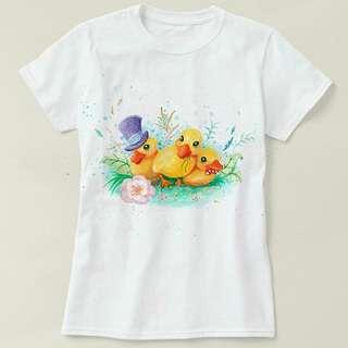 小鴨 T-shirt