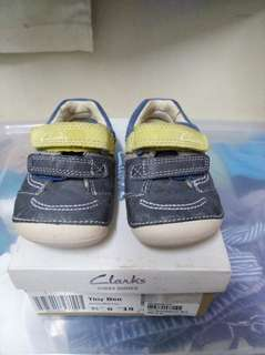 Clarks first Shoes Tiny Ben baby shoes