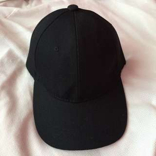 🌸BRANDNEW🌸 Unisex Plain Black Baseball Cap / Hat