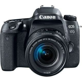 CANON 77D DSLR CAMERA