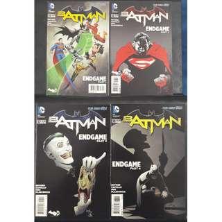 Batman #35, #36, #37 & #38 (Endgame Parts 1 to 4)