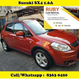 Suzuki Sx4 1.6 Hatchback for Rent