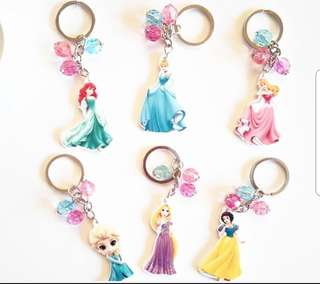 Disney Princesses Keychain