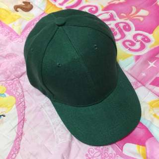 🌸BRANDNEW🌸 Unisex Plain Green Baseball Cap / Hat