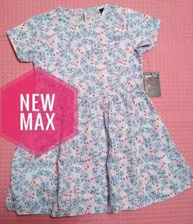 Dress bunga Max
