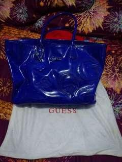 Guess bag blue ORI 💯