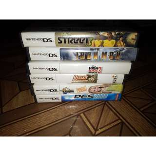 BUNDLE/INDIVIDUAL SALE NINTENDO DS Games