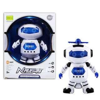 Mainan anak robot naughty
