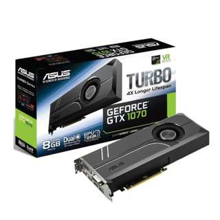 ASUS GTX 1070 8GB TURBO
