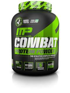 🔥 MusclePharm Combat Protein Powder 4lbs