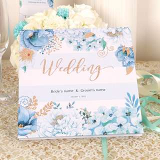Customizable Wedding Business Birthday Ceremony Guest Book
