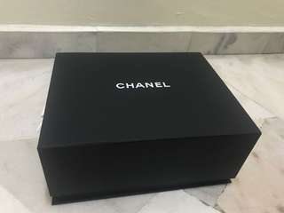 Genuine Chanel boy empty box