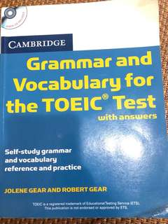 🚚 Grammar and vocabulary Toeic test with answers