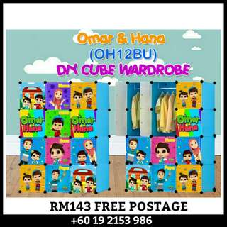 12 CUBE DIY WARDROBE