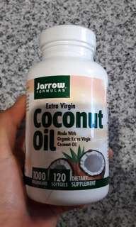 Jarrow Formulas Extra Virgin Coconut Oil Capsules