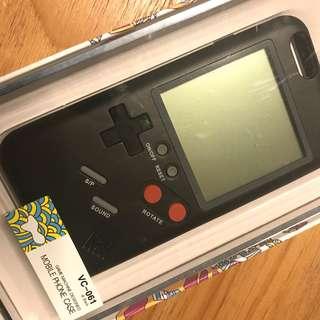 "Wanle 7080 iPhone 6 (4.7"") Case (黑色Gameboy造形)"