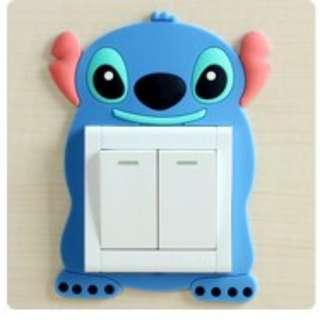 Lilo And Stitch Design Switch Socket Wall Paper
