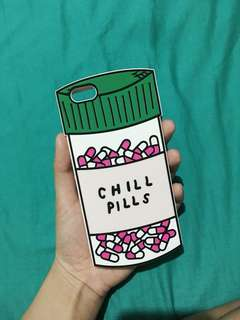 Chill Pill Rubber iPhone Case for 6s+