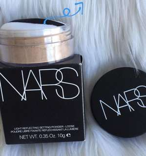 Loose powder nars