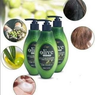 Olive Nutrient Smoothing Anti Dandruff Hair Shampoo 400ml