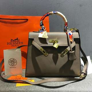Hermes Kelly Khaki Color