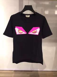 Fendi Tee 黑色 Size:36-42 Real and New