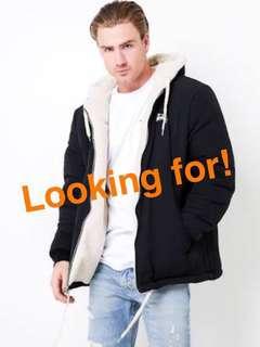 Wanted: Stussy Reversible Jacket