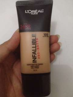 L'oreal foundation Infallible