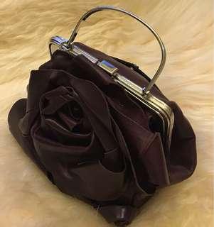 迷你玫瑰花手袋