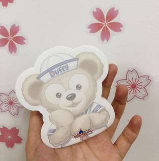 Hongkong Disneyland Duffy sticky notepad