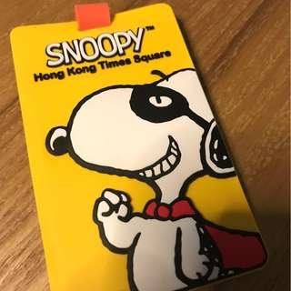 Snoopy x Times Square 行李名牌(Luggage Tag)