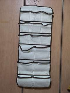 🚚 30 Pockets Closet Door Wall Hanging Organizer
