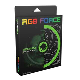 🚚 120mm RGB Fan Gamemax Ringforce GMX-12RGB-PRO 12cm