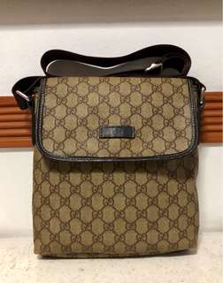 Gucci GG Patterned Shoulder Crossbody Bag