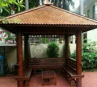 Gazebo Seat Bench