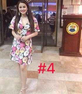 Floral Celebrity Dress