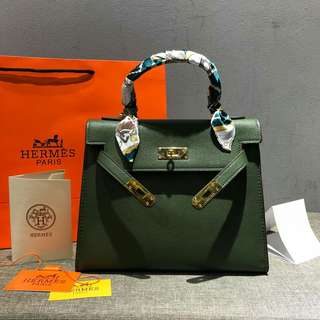 Hermes Kelly Green Color
