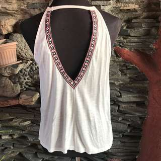 H&M Bohemian Backless Top