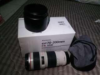 Jual santai lensa tele Canon EF 70-200mm f/4L USM