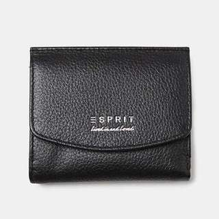 Esprit Black Small Cow Leather Wallet