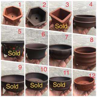 Zisha pot various design