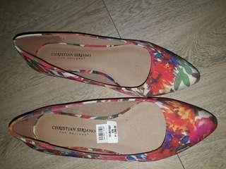 Christian siriano signatured shoes